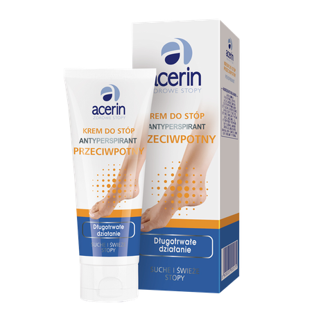 Acerin Antyperspirant foot cream 5900031002170	ACERIN ANTYPERSPIRANT krem do stóp