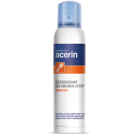 Acerin Komfort foot and shoe spray 5900031002538	ACERIN KOMFORT