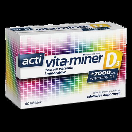 acti vita-miner D3 d3 pack