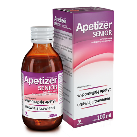 Apetizer Senior, raspberry and currant flavour apetizer senior malinowo porzeczkowy