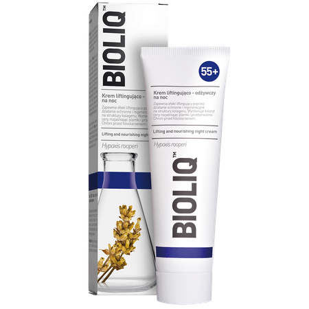 Bioliq 55+ Lifting and nourishing night cream Bioliq 55+ Krem liftingująco- odżywczy na noc