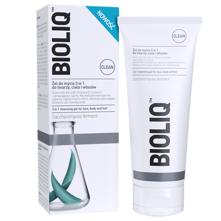 Bioliq Clean 3 in 1 cleansing gel for face, body and hair Bioliq Clean Żel do mycia 3w1 do twarzy, ciała i włosów