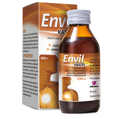 Envil cough syrup