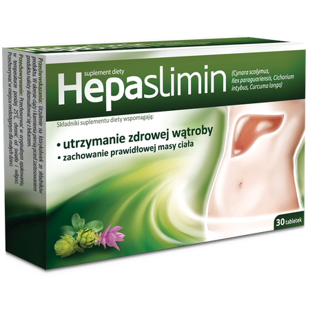 Hepaslimin Dietary Suplement Aflofarm