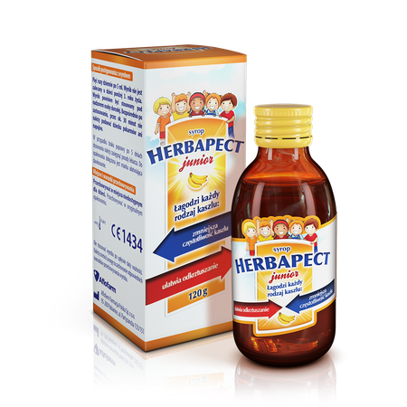 Herbapect junior banana flavour 5906071067001