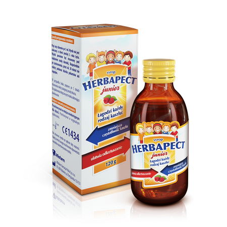 Herbapect junior raspberry flavour 5906071063737