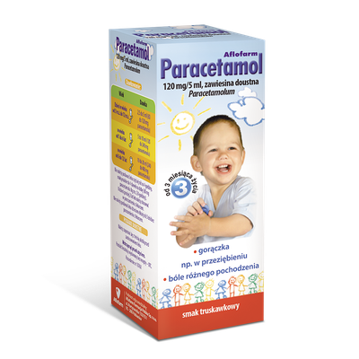 Paracetamol Aflofarm, oral suspension