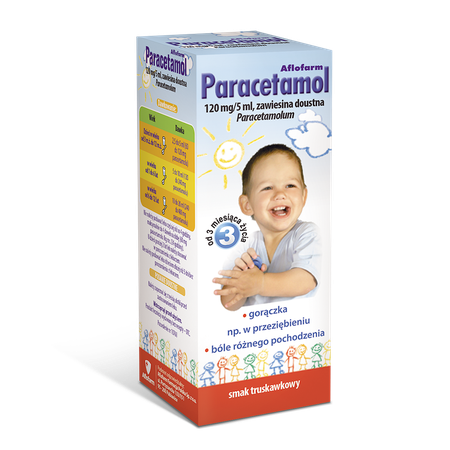 Paracetamol Aflofarm, oral suspension 5909991076115
