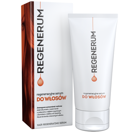 Regenerum hair regenerating serum Regenerum regeneracyjne serum do włosów
